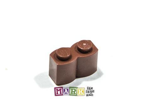 Lego Parts Lego Part 30136 4519970 Brown Palisade Brick 1x2 lego 30136 1 215 2 palisade brick 4211180 mad about bricks