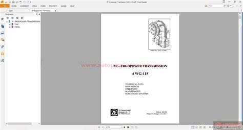 28 6wg 200 transmission repair manual 90250 1940