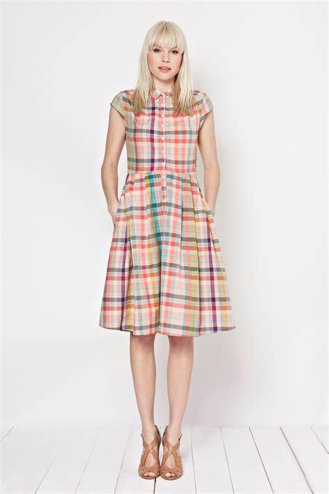 Check Shirt Dress checked shirt dress dresses great plains