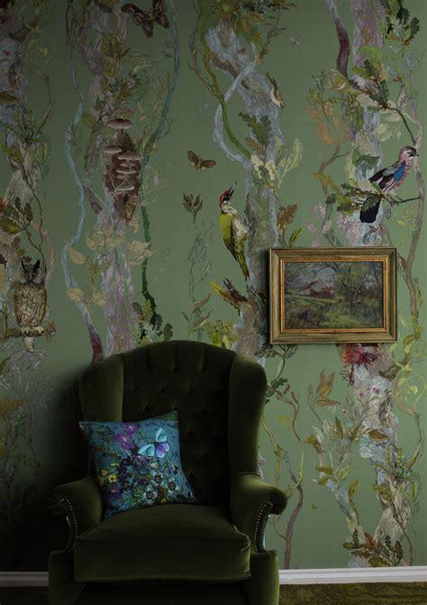 indie wood wallpaper timorous beasties