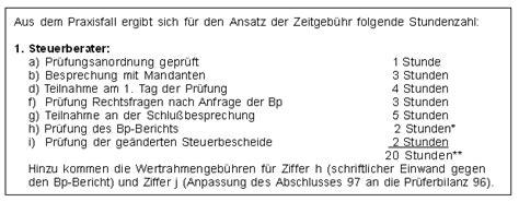 Musterrechnung Steuerberater Geb 252 Hrenrecht Die Verg 252 Tung F 252 R Eine Steuerliche Betriebspr 252 Fung