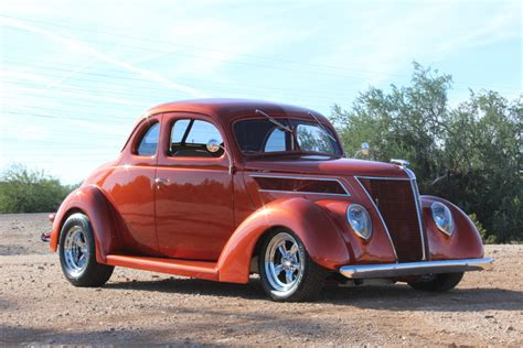 1937 ford coupe orange 1937 ford coupe for sale mcg marketplace