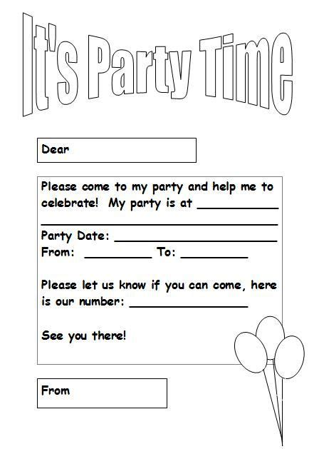 Black And White Party Invitation Template Free Orderecigsjuice Info Birthday Invitation Card Template Black And White