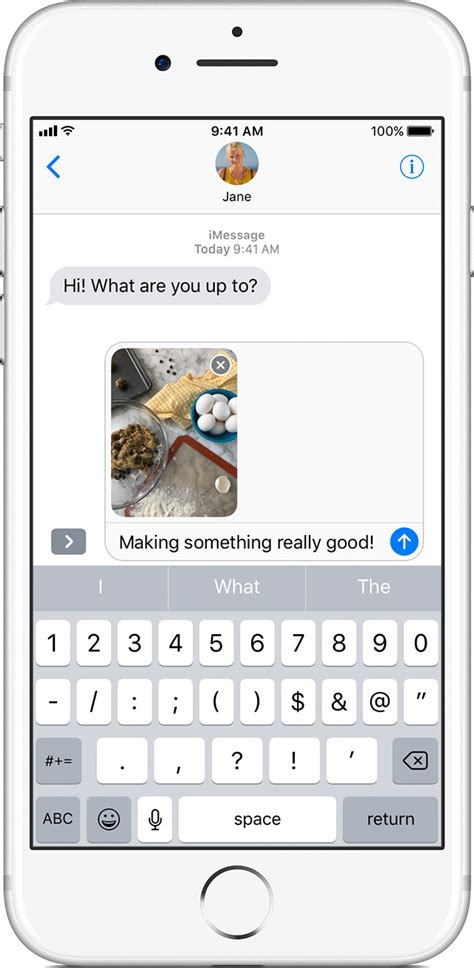 message photos send photo or audio messages on your iphone