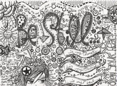 doodle writing meaning smorgasbord hobby letter writing