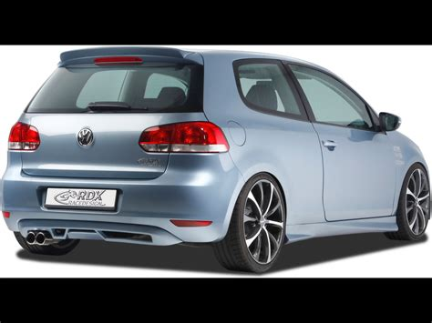 2009 Vw Golf by 2009 Rdx Racedesign Volkswagen Golf Vi Rear Angle