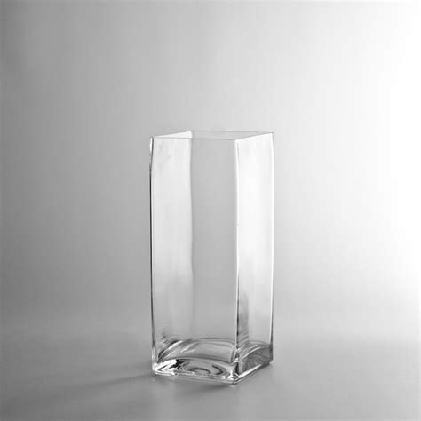 Glass Block Vases by 10 Quot X 4 Quot Glass Block Vase Wholesale Flowers