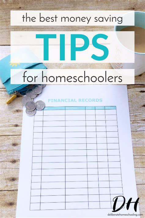 pin the best money saving tips for homeschoolers