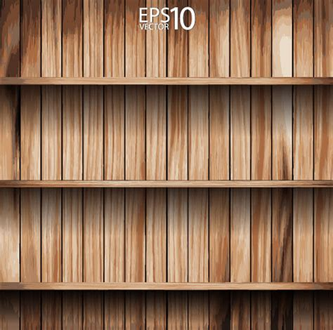 wooden bookshelf background vector 02 millions