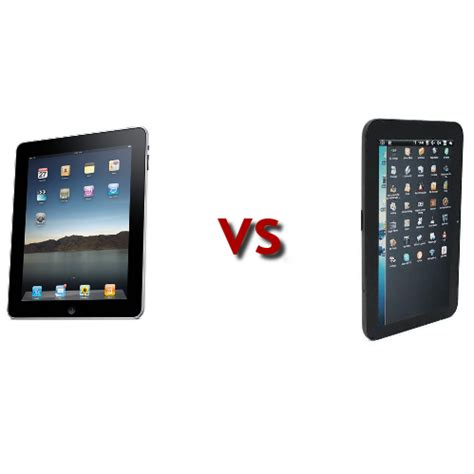 vs android tablet vs android which tablet is better technically easy