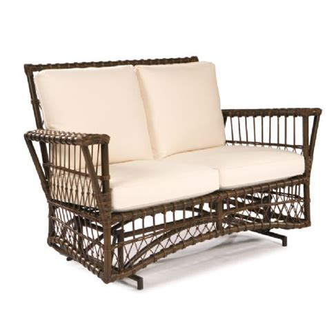 loveseat glider outdoor lane venture replacement cushions browse by furniture