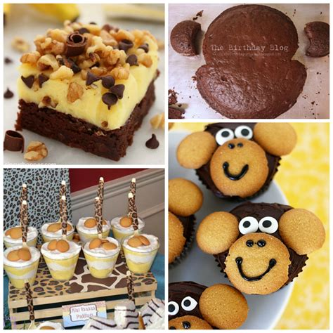 Monkey Themed Baby Shower Food by Diy Monkey Baby Shower Ideas Crafty Morning