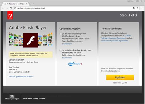 Beware Fake Meltdown And Spectre Patches Flash Player Website Templates
