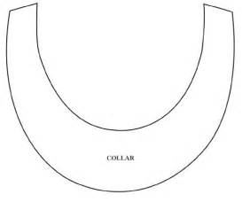 Ancient Collar Template fabric necklace base template free card downloads