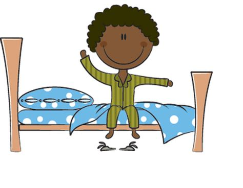 imagenes get up wake up kids clipart