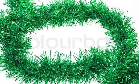 christmas colored tinsel streamers stock photo colourbox