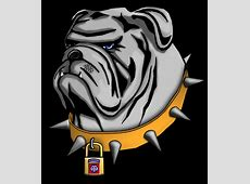 Bulldog logo graphic Georgia Bulldog Clipart Logo