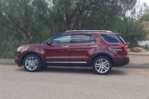 Explorer Ford 2016 2016 Ford Explorer By The Numbers Photo Gallery Motor Trend