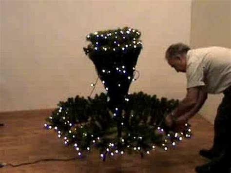 how to shape an artifical christmas tree youtube