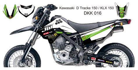 kawasaki d tracker 150 klx 150 graphic decal kit code