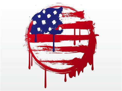 design art usa american flag graffiti