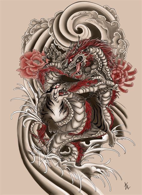 japanese designs on dev tattoos deviantart japanese commission by beautiful beasties on