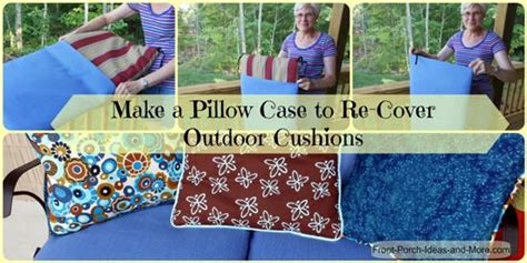 How To Make Patio Cushion Covers by Porch Swing Cushions Help Keep Your Hiney Happy