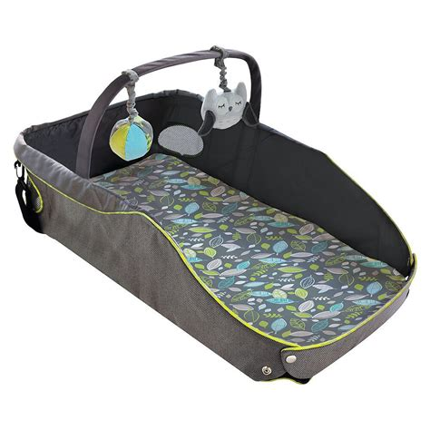 baby travel bed eddie bauer baby gear popsugar moms