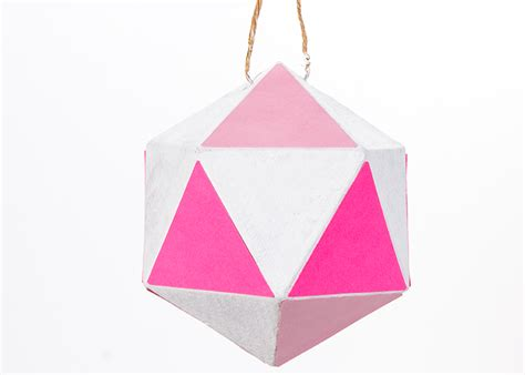 geometric ornament craft ideas