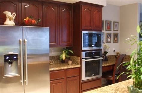 orange county kitchen cabinets added some potted plants cabinet wholesalers kitchen