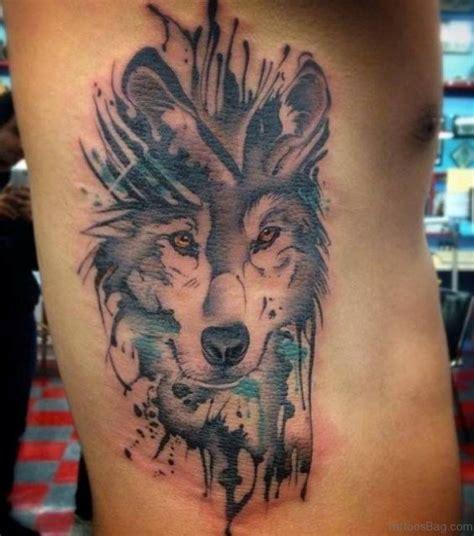 animal tattoo rib 21 fantastic wolf tattoos on rib