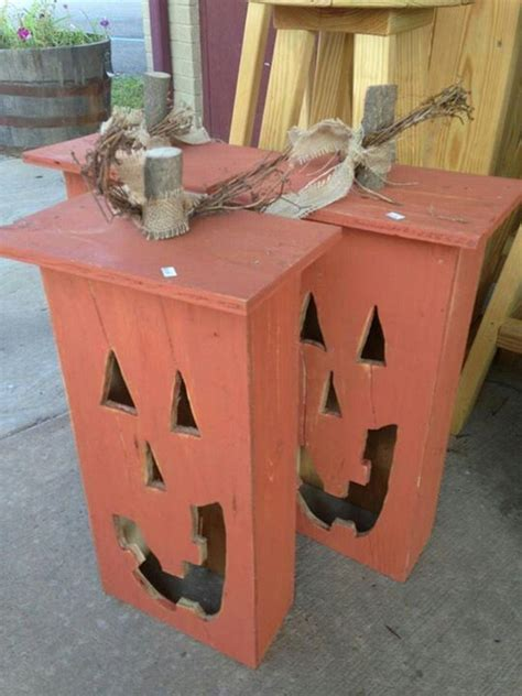 Halloween Pumpkins Designs - 27 diy reclaimed wood projects for your home s outdoors remodeling expense