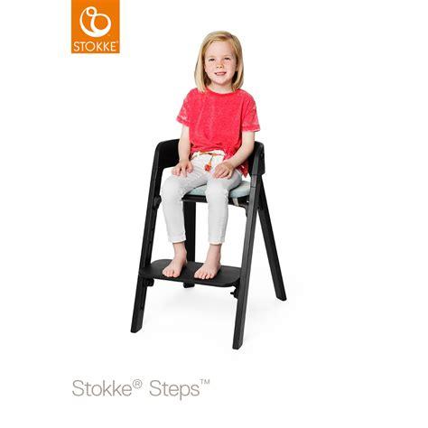 Assise Pour Chaise by Assise Pour La Chaise Haute Steps Noir De Stokke Sur Allob 233 B 233