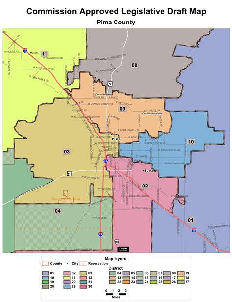 pima maps draft maps
