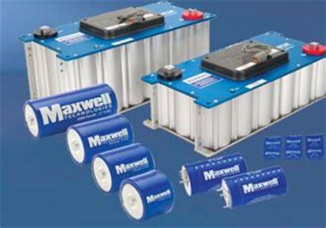 supercapacitors companies car makers like stop start supercapacitors