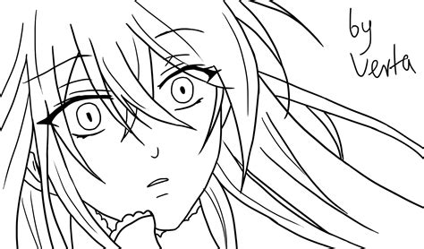 pandora hearts coloring pages lacie pandora hearts lineart by vertamoltke on deviantart