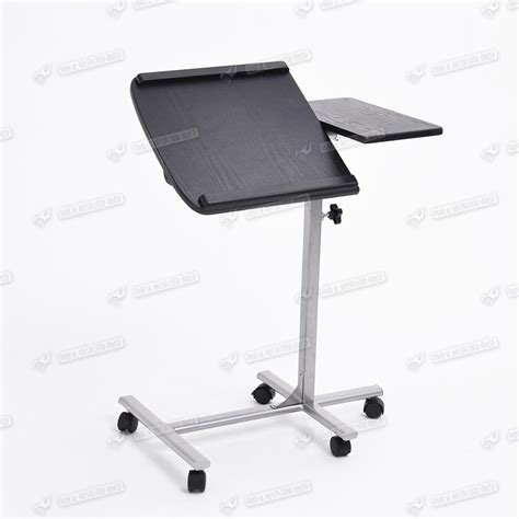 Adjustable Laptop Desk Stand Height Adjustable Mobile Computer Desk Laptop Tray Table Stand Wheel Removable Ebay