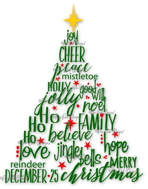 words to describe a christmas tree words to describe decore