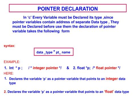 Pointers C programming C- Pointer Indirection