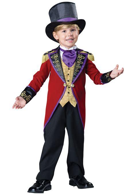 halloween costumes toddler ringmaster costume