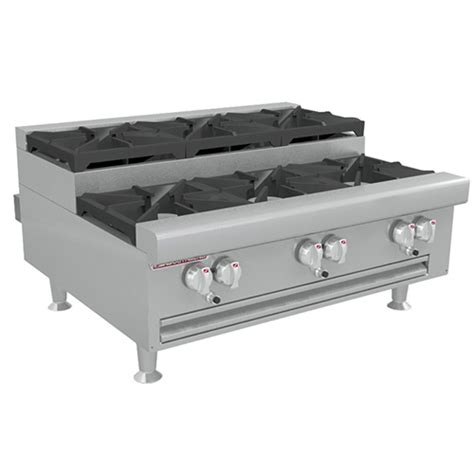 Gas Countertop Range by Southbend Hdo 36su Step Up Gas Countertop Range 6 Burners