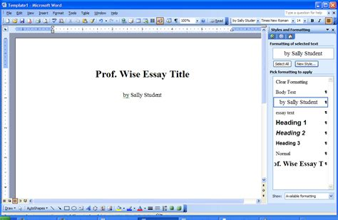 Creating Word Templates How Do I Create Custom Microsoft Word Templates Ask Dave Taylor