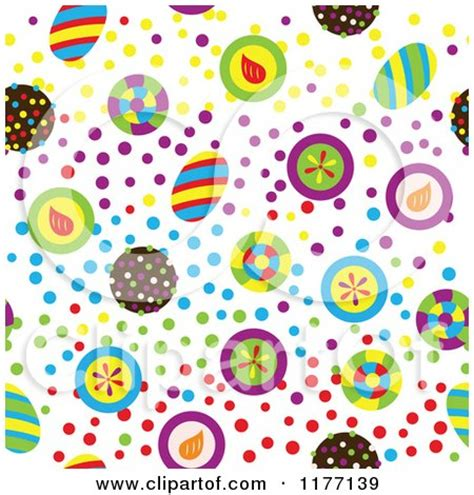 Wallpaper Motif Lolipop 4 clipart of a seamless background pattern of colorful