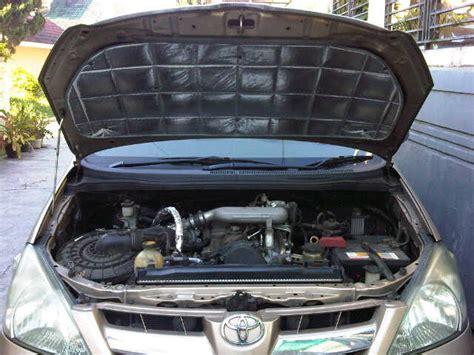 Peredam Suara Kap Mobil Kijang Kapsul peredam panas kap mesin menurunkan bising suhu ruang