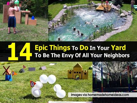 things to do in your backyard 14 epic things to do in your yard to be the envy of all