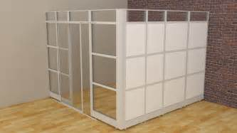 room dividers glass walls cubicle panels modular office