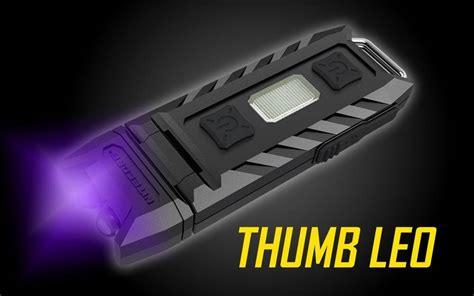 Nitecore Thumb Leo Senter Led Usb Rechargeable 45 Lumens Uv Light 1 nitecore thumb leo senter led usb rechargeable 45 lumens uv light black jakartanotebook