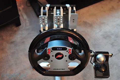 volante fanatec xbox 360 fanatec forza motorsport csr wheel and elite pedals review