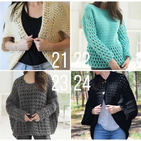 Easy Free 24 easy free crochet sweater patterns make do crew