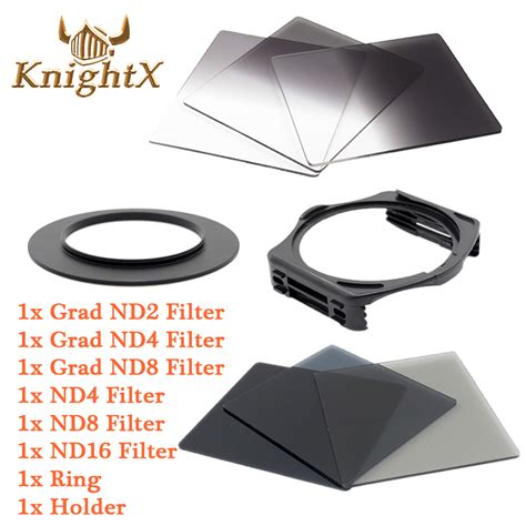 Paket Square Filter 58mm aliexpress buy knightx nd grad filter kit for cokin